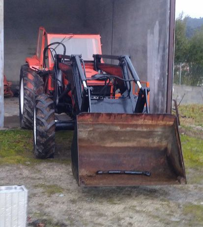 Trator Same 70 Explorer 4x4 Frontal Cabine Tractor