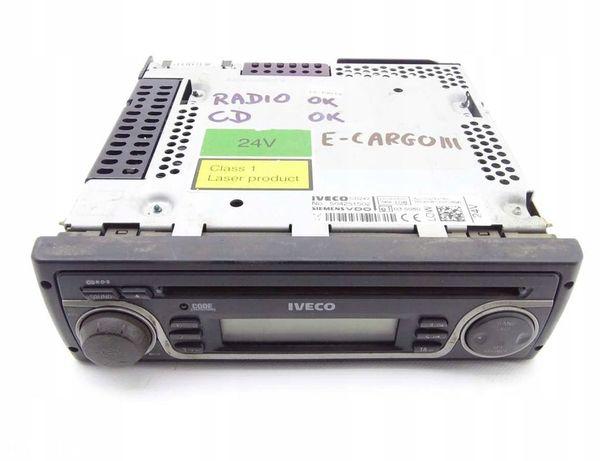 IVECO EUROCARGO STRALIS RADIO CD 24V VDO SIEMENS