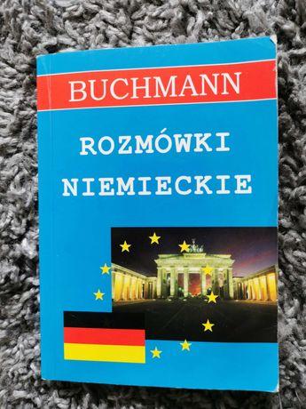 """""""Rozmówki niemieckie"""" BUCHMANN. Książka do nauki słownictwa."""