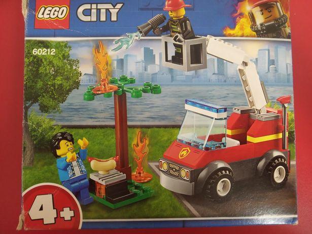 Lego city пожарная