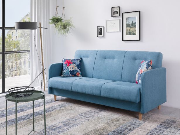 Wersalka Sofa rozkładana kanapa łóżko funkcja spania Fumba