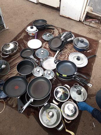 Посуда з Европи РОЗПРОДАЖ! Сковороди пательні каструлі братванки 200гр