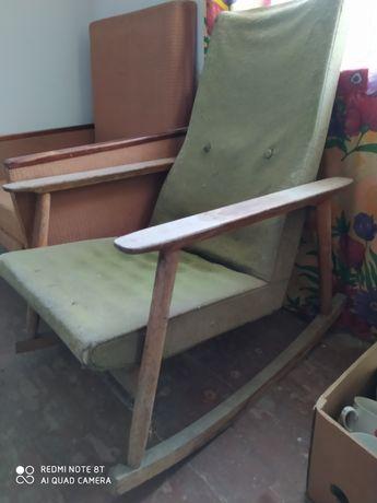 Кресло качалка дерево под реставрацию