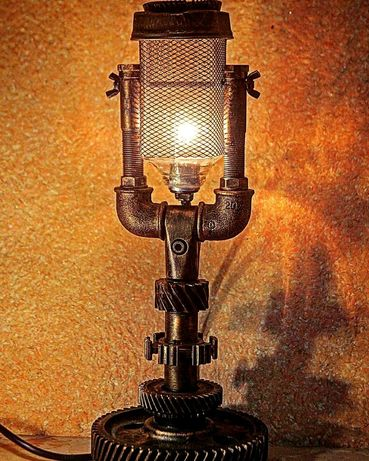 Світильник в стилі лофт. Елементи декору в стилі loft