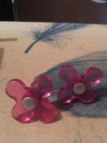 Uchwyty gałki do mebli dziecięce kwiatuszki