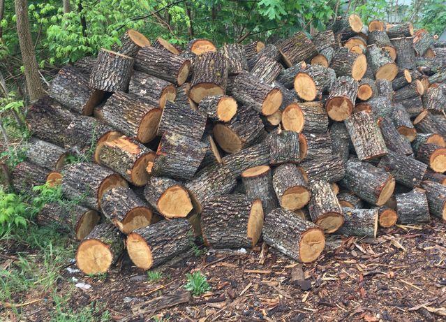 Продам дрова твёрдых пород Метровые и чурками 30-40 см Дуб, Акация.