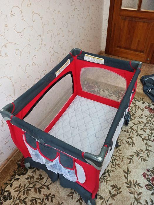 Кроватка-манеж Chicco Lullaby LX + подарок Донецк - изображение 1