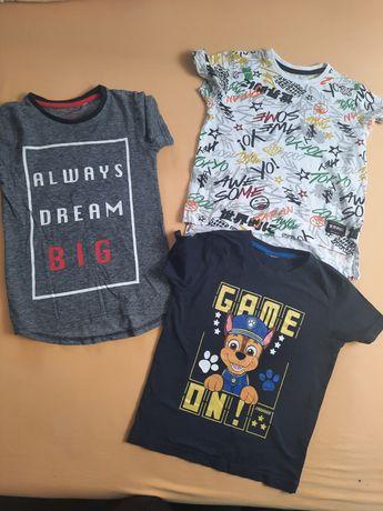 Bluzki  koszulki 110-116