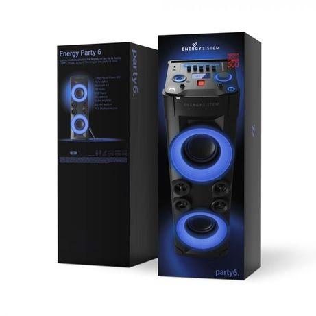 Coluna Som Bluetooth Energy party system 6 GARANTIA