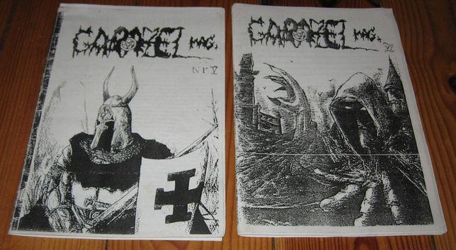 GARAZEL MAGAZINE Zine Nr 5, 6 Marduk Limbonic Art Arkona Sacrillegium