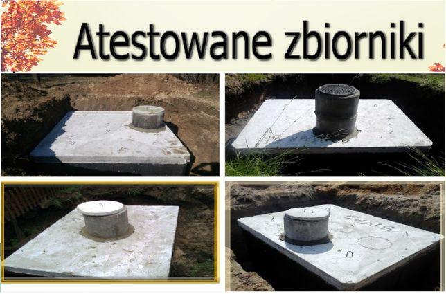 SZAMBO betonowe SZAMBA zbiornik 8m3 na wodę, gnojówkę, kanał betonowy