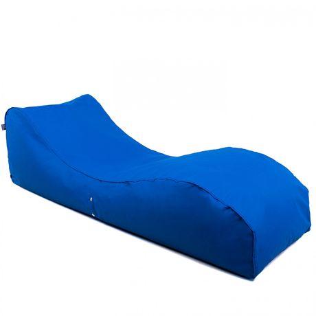 Бескаркасный лежак Tia-Sport Лаундж 185х60х55см синий