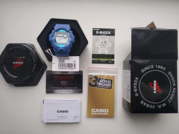 New G-Shock GBD 800-2E + 3 Years Garanti