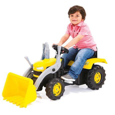 Трактор на педалях