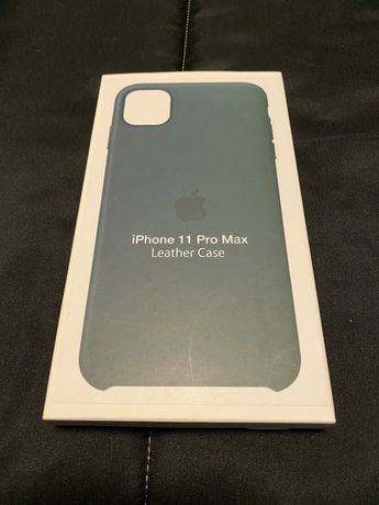 Iphone 11 Pro Max Leather Case Forest Green NOVA