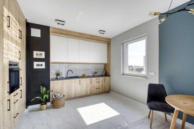 Bezpośrednio, nowe, 3-pokojowe, wykończone mieszkanie, Ursynów