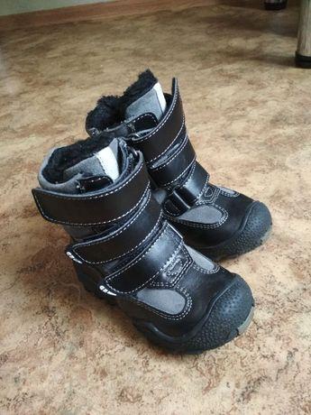 Ботинки зимние кожа 23 р