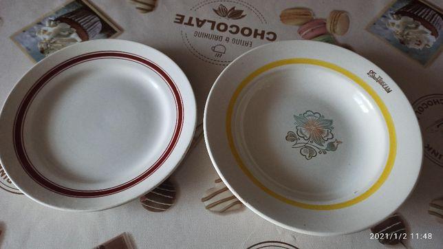 Посуда (тарелки) времен СССР.
