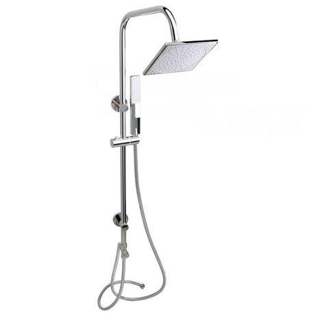 Душевая стойка без смесителя с верхним и ручным душем QT 1001