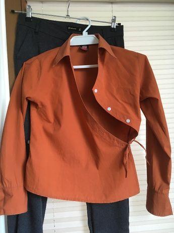 Bluzka Mrówka i koszula / bolerko Reserved bawełna rozm. 34 36