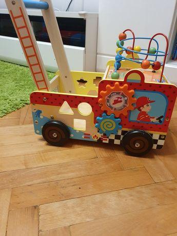 Pchacz wóz strażacki Kinderplay