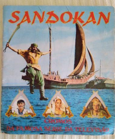 Caderneta  Sandokan 1976 vintage