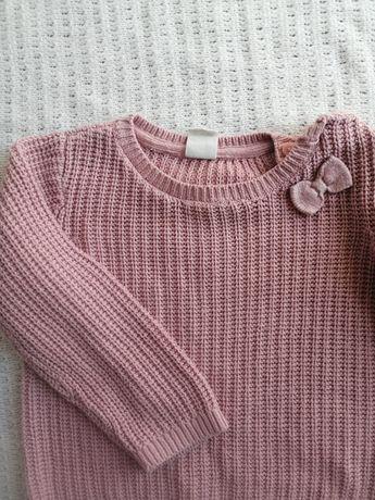 HM sweterek dla dziewczynki r. 80