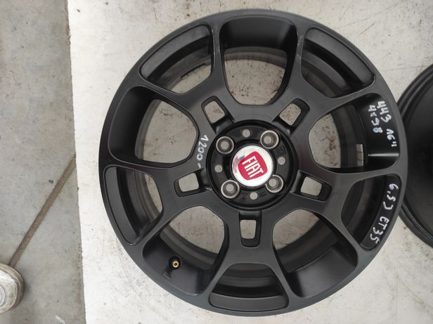 443 Felgi aluminiowe ORYGINAŁ FIAT R 16 4x98 czarne