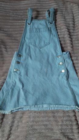 Sukienka dżinsowa dla dziewczynki 134 cm