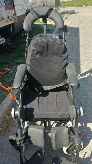 Wózek inwalidzki regulowany pochył wysoki neurologiczny