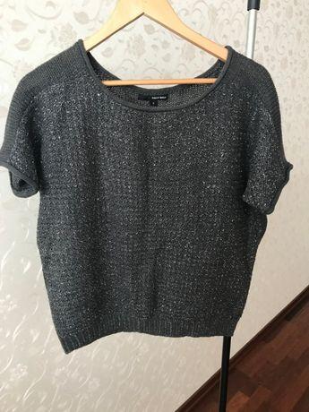 Продам серый свитер. кофту с люрексом Tally Weijl