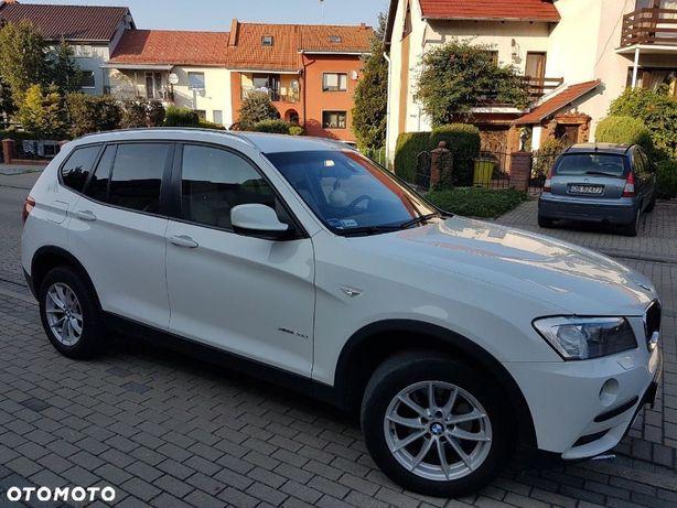 BMW X3 bmw x3 xdrive20d, desel, skóra, salonowy,faktura VAT