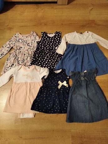 Sukienki dla dziewczynki / 10 zł sztuka