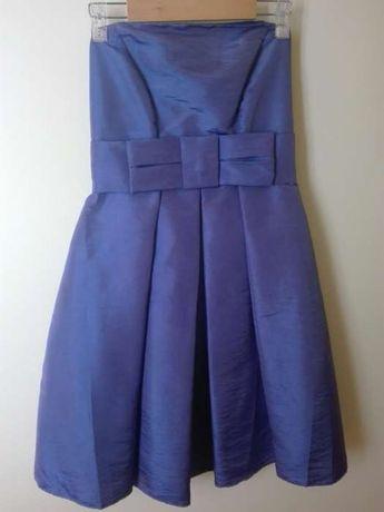Vestido de gala roxo