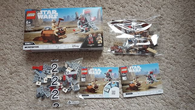 Lego Star Wars 75265 nowy, niekompletny
