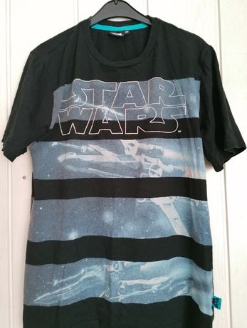 t-shirt Star Wars r.164 koszulka chłopięca, st.bdb