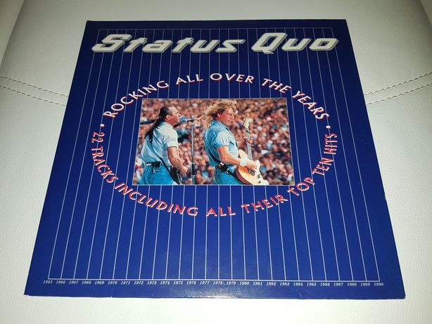 2LP Płyty winyl Status Quo-Rocking All Over The Years