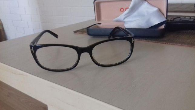 nowe okulary zerówki z salonu optycznego