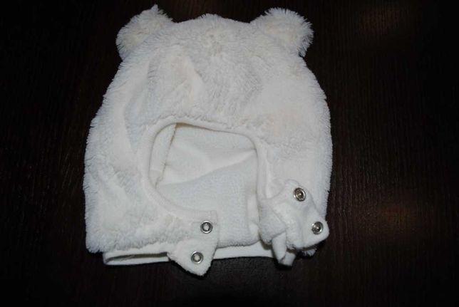 05-> ciepła czapka na zimę F&F 12-24mca ok 48cm na polarku