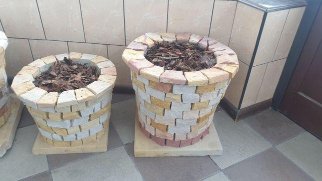 Donica, wazon, piaskowiec kamień naturalny różne wymiary
