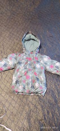 Куртка зимняя для девочки 2-3 года