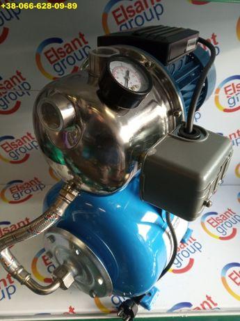 Насос станция в сборе с автоматикой бачком для воды полива 1,5 KW НЕРЖ