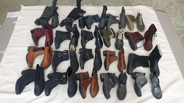 Миксы женской обуви Rieker сток оптом обувь