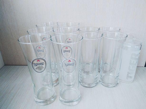 Zestaw szklanek do piwa wody soków