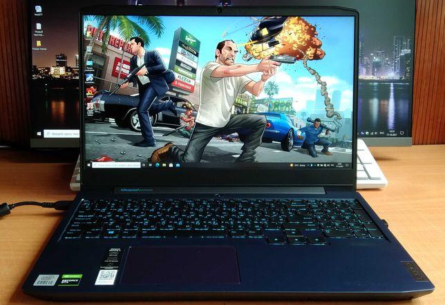 Lenovo Gaming 3 15.6 IPS FullHD/i5-10300H/8Gb/512Gb/GTX1650-4Gb/новьё