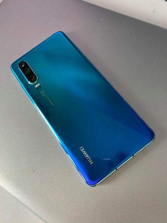 Huawei P30 Aurora Blue 128gb stan idealny