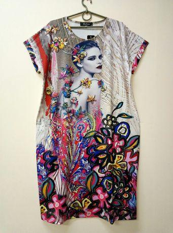 Распродажа 56 Размер, платье трикотаж, новое