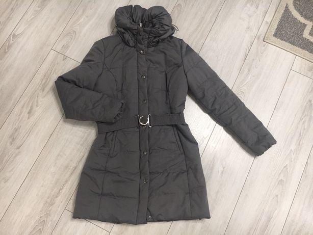 Płaszczyk zimowy ORSAY rozmiar XL - damski płaszcz super kołnierz