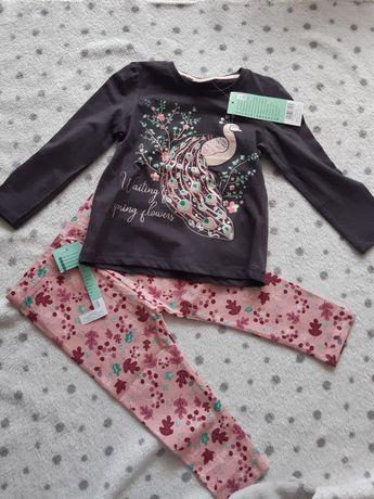Bluzeczka i legginsy rozm 86