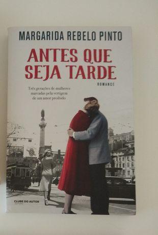 Livro Antes que seja tarde - Margarida Rebelo Pinto